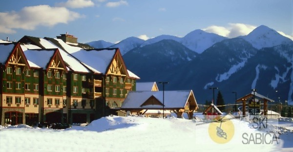 Best Western Fernie Mountain Lodge. Vista exterior.