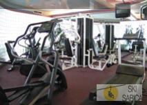 Iron Blosam Lodge. Gimnasio.