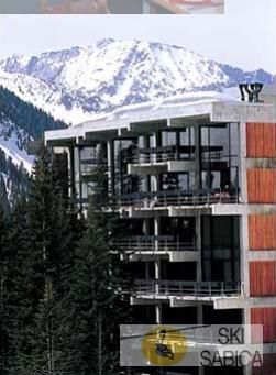 The Lodge at Snowbird. Vista exterior.