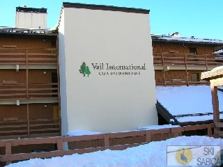 Vail International Condominiums. Vista exterior.