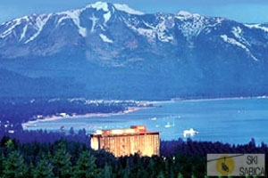 Harrah`s Lake Tahoe. Vista exterior.