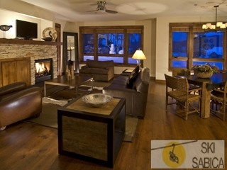 Resort Quest Breckenridge. Interior apartamentos.