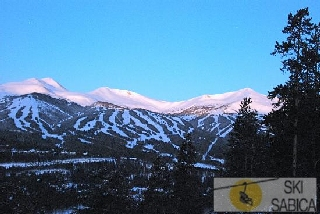 The Lodge at Breckenridge. Vista desde hotel.