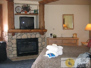 The Lodge at Breckenridge. Interior de apartamentos.