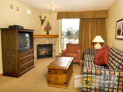 Whistler Cascade Lodge. Interior habitaciones.