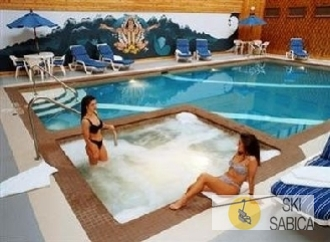 Sawridge Inn. Piscina interior