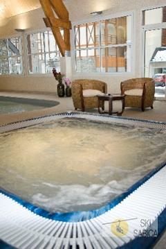 Residencia Le Belvedere. Jacuzzi.