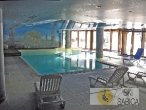 Residencia Le Cristal D´Argentiere. Piscina