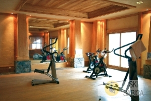 Residencia Les Alpages de Champagny. Gimnasio