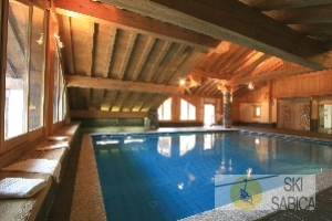 Residencia Les Alpages de Champagny. Piscina