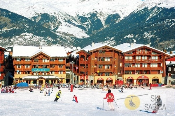 Hotel Latitudes du Golf Courchevel