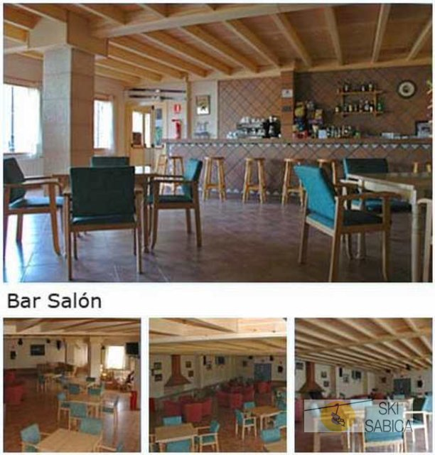 Hotel Supermolina. Bar salón.
